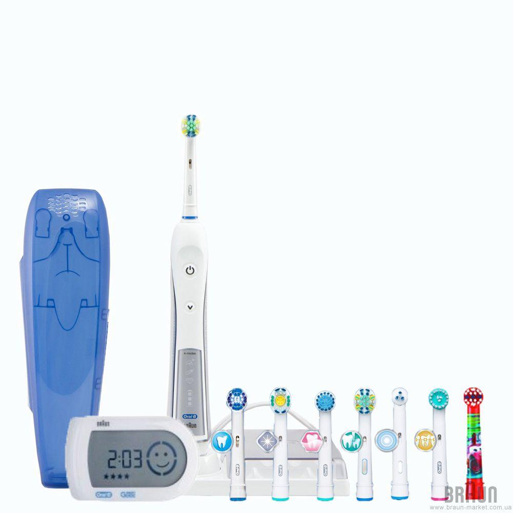 Зубна щітка Braun Oral-B Triumph Smart Guide 5000 D 34.575.5X ... f87964c246871