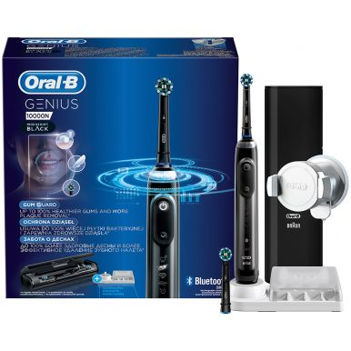 Зубная щетка Braun Oral-B Genius 10000N Midnight Black (D701.525.6XC)