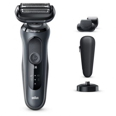 Бритва Braun Series 6 60-N4500cs Flex Wet&Dry