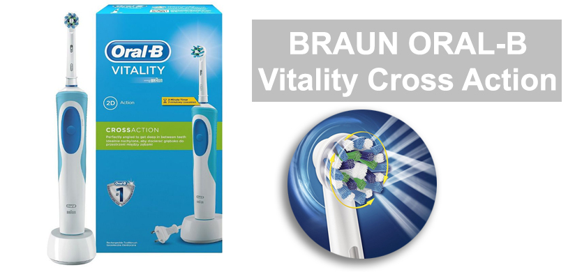 Обзор зубной щетки Braun Oral-B Vitality Cross Action