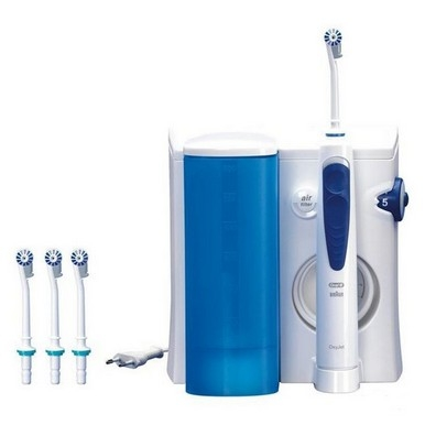 Обзор ирригатора Braun MD 20 Oral-B Professional Care OxyJet