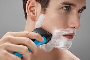 Для сухого бритья или под душем